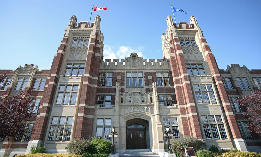 Exterior photo of SAIT