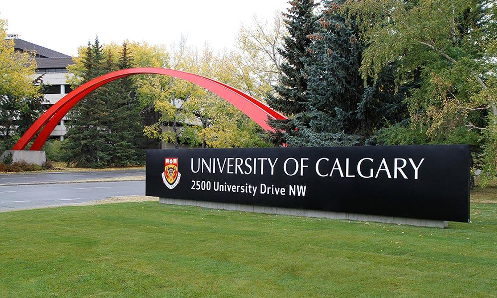 Exterior photo of University of Calgary